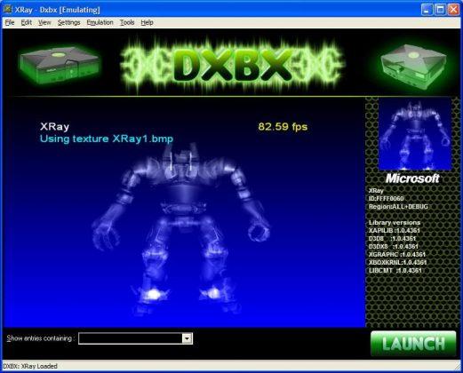 DXBX Emulator