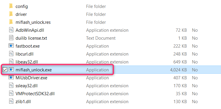 extract the installation file