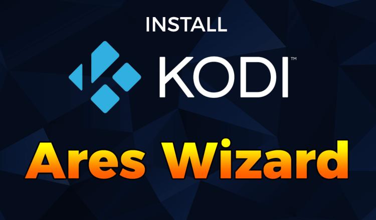 install kodi ares wizard